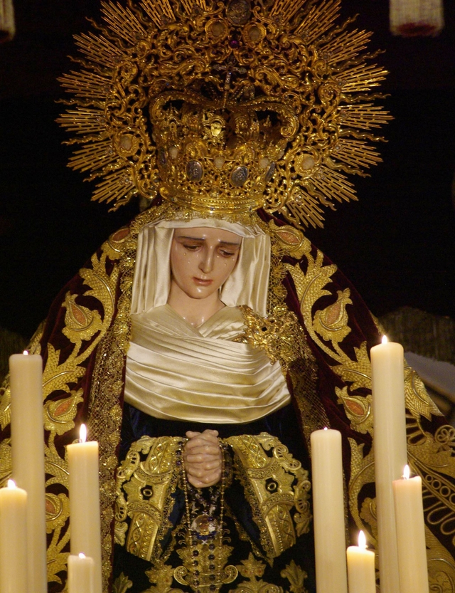 María Santísima del Amor Doloroso - Pasión