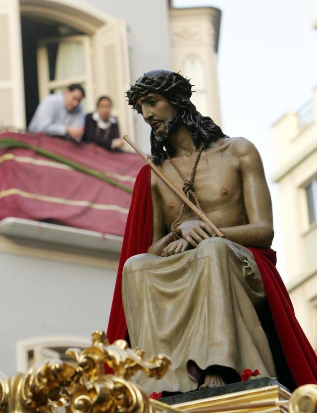 Santo Cristo Coronado de Espinas - Estudiantes